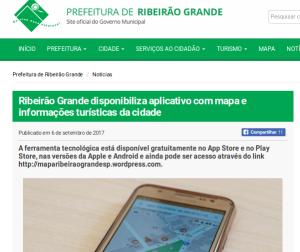 prefeitura municipal noticia no site 6 de setembro