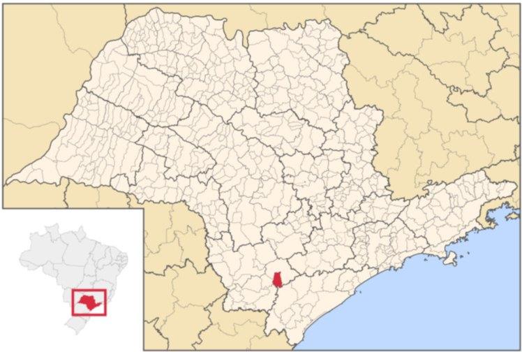 Localização de Ribeirão Grande