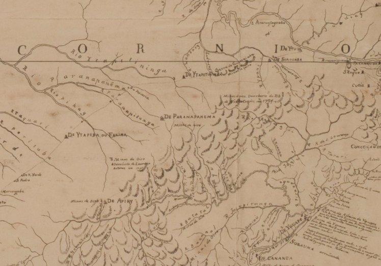 Mapa da Capitania de S. Paulo (1792)